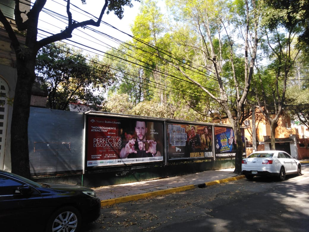 Terreno en San Miguel Chapultepec CDMX